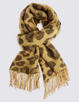 Marks and Spencer Animal Print Blanket Scarf