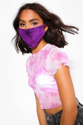 boohoo Tie Dye Fashion Face Mask