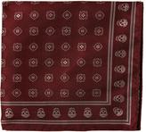 Alexander McQueen Foulard-jacquard silk pocket square
