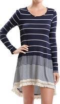Blu Pepper Navy Stripes Tunic