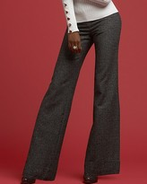 INC International Concepts ®  Tweed Wide-Leg Cuffed Trouser