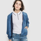 Cimarron Denim Look Bomber Jacket