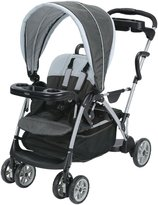 Graco RoomFor2 Classic Connect & Click Connect Stand & Ride Stroller - Glacier - Black