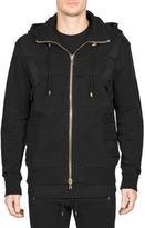 Balmain Belted Hooded Jacket