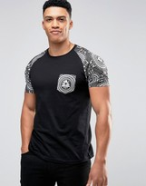 Brave Soul Evil Eye Pocket T-shirt