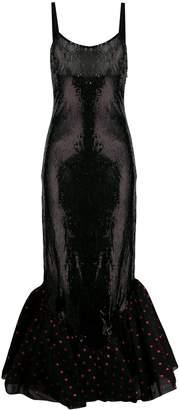 ATTICO sequin tulle dress