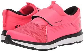 Pearl Izumi Vesta Studio Cycling Shoe (Black/Atomic Red) Women's Cycling Shoes