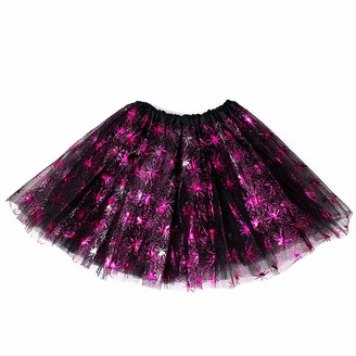 JYC Store Women's Teen Sequins Tutu Skirt Adult Classic Elastic Tulle Tutu Skirt (Sequins)
