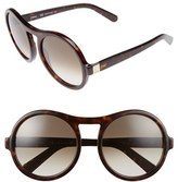 Chloé Women's Marlow 57Mm Round Sunglasses - Black