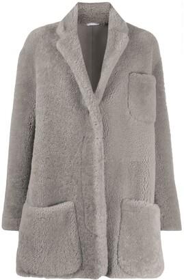 Thom Browne Dropped Shoulder Oversized Coat