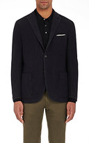 Boglioli Men's Wool Sportcoat-NAVY