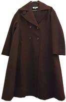 Maison Margiela Purple Wool Coat for Women