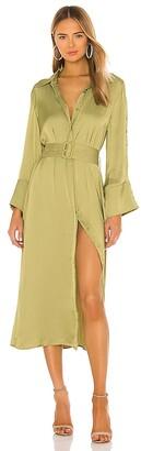 Elliatt Aviary Shirt Dress