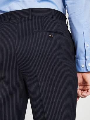 Skopes CradleyStriped Suit Trousers - Navy