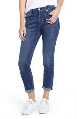 7 For All Mankind Josefina High Waist Ankle Boyfriend Jeans