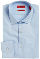 HUGO Solid Cotton Dress Shirt
