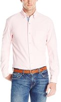 Nautica Men's Long Sleeve Solid Oxford Shirt