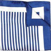 River Island Mens Blue multi design pocket square