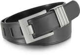 Forzieri Black Leather Belt
