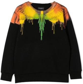 Marcelo Burlon County of Milan Print Sweatshirt