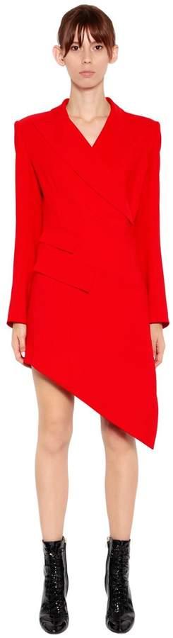 Antonio Berardi Wrap Cady Jacket Dress