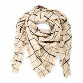 Sole Society Woven Window Pane Scarf