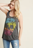 ModCloth Brainy Bouquet Tank Top in S