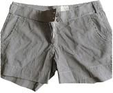 Mauro Grifoni White Cotton Shorts for Women