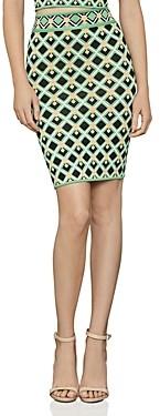 BCBGMAXAZRIA Diamond Knit Pencil Skirt