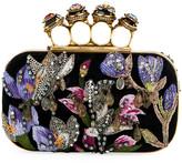 Alexander McQueen Jeweled Butterfly Box Clutch Bag