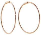 ginette_ny Fine Circle Hoop Earrings - Rose Gold