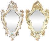 One Kings Lane Vintage Large Carved Ventian Mirrors