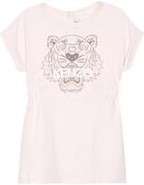 Kenzo Tiger icon cotton dress 6-36 months