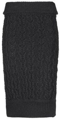 Les Hommes Knee length skirt
