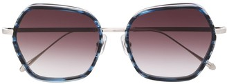 Matsuda M3078 oversized frame sunglasses