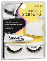 Andrea Modlash False Eyelashes Starter Kit 33 Black