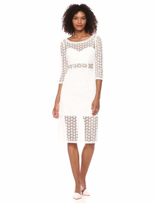 BCBGMAXAZRIA Azria Women's Daisy Lace Sheath Dress