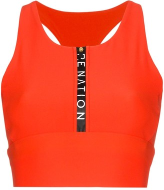 P.E Nation Straight Fire Sports Bra