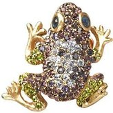 "Jay Strongwater Frog Tack Pin "" Libbie"""