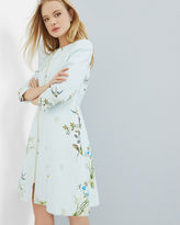 Ted Baker Spring Meadow collarless coat