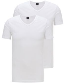 HUGO BOSS Two-pack of slim-fit underwear T-shirts