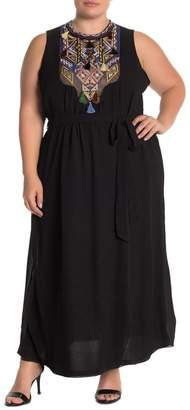 City Chic Urban Tribe Maxi Dress (Plus Size)