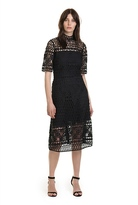 Country Road Lace A-Line Dress