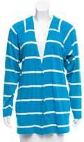 Christian Dior Striped Knit Cardigan