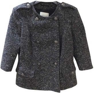 Pierre Balmain Grey Tweed Jacket for Women