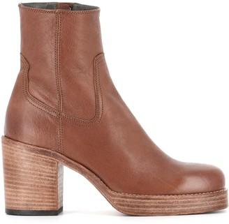 Officine Creative Ankle Boots dahlia/001
