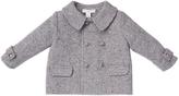 Marie Chantal Herringbone Baby Boy Coat