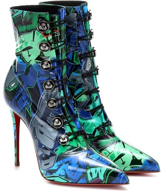 Christian Louboutin Liossima 100 ankle boots