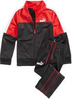 Puma 2-Pc. Track Jacket & Pants Set, Little Boys