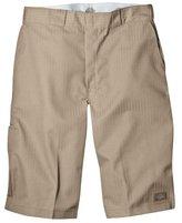 Dickies Men's Big 13-Inch Twill Striped Multi-Pocket Work Short
